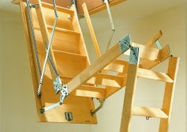 attic ladder from skydome hunter coast