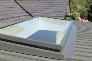 glass skylight bushfire