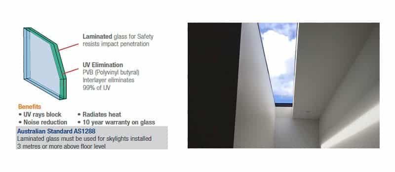 Glass Skylights -