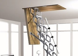 attic ladder by skydome hunter coast