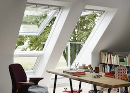 study room with velux from skydome hunter coast