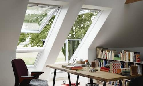 study area with velux from skydome hunter coast