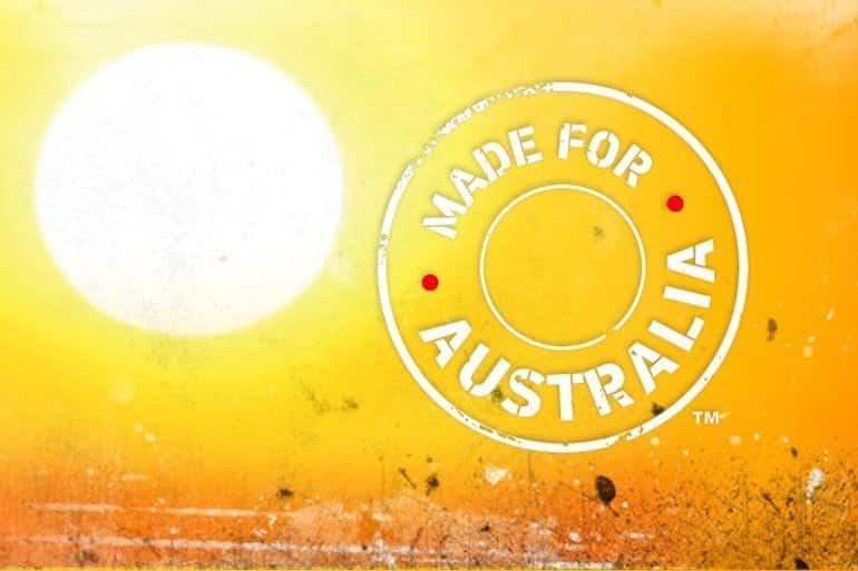 made from australia logo