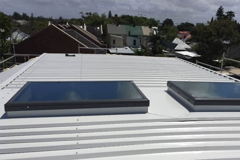 hob velux series installed at the roof by skydome hunter coast