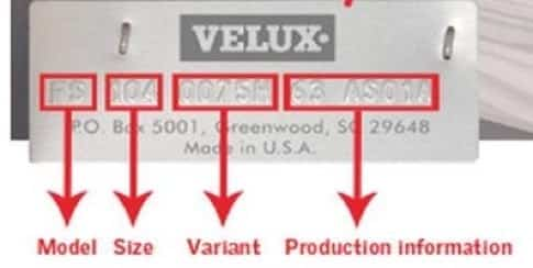 velux plate