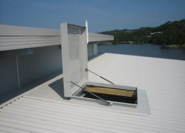 roof hatch from skydome hunter coast